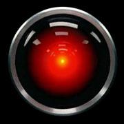 HAL 9000 - 2001 A Space Odyssey / Kubrick