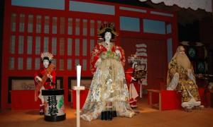 Reconstitution d\'une scène de théâtre Kabuki