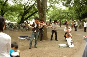Un quatuor rock de musique classique à Kichijôji