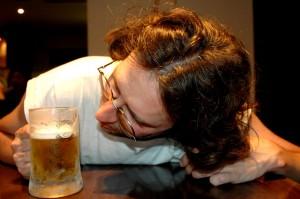 Mesure d\'évaporation de la bière pression japonaise