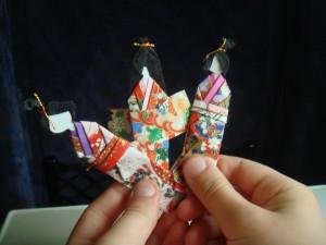 Poupées origami
