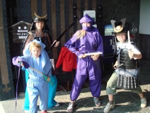 Déguisements samouraïs et ninjas !