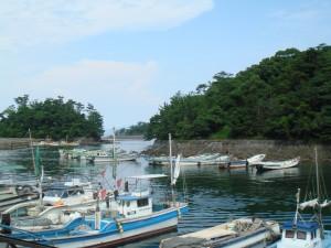 Le port de pêche de Shimabara (Kyushu, Japon)