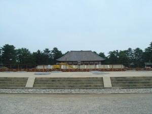 Le temple Kofuku-ji entièrement démonté jusqu\'en 2010 (Nara, Japon)