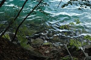 Le lac Chuzenji près de Nikko au Japon