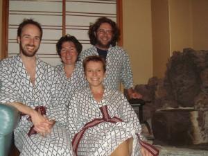 Quatre Dubois en Yukata