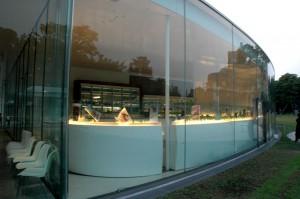 Le musée du XXIeme siècle à Kanazawa au Japon