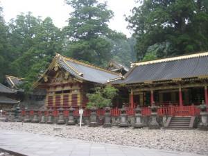 Le sanctuaire Toshogu à Nikko au Japon