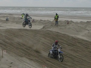 Berck Beach Crossing 2008 - encore des motos sur la plage