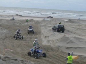 Berck Beach Crossing 2008 - Quads sur la plage