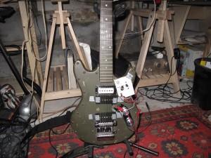 Guitare prototype du professeur Nimbus