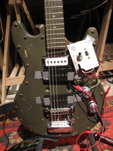 Mad professor test guitar