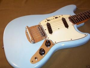 corps guitare électrique Fender Mustang 1964