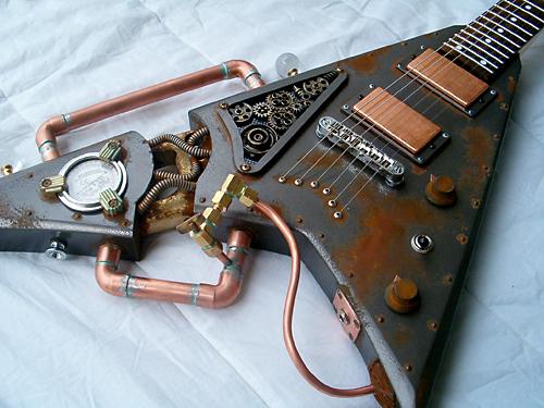 Le SteamPunk Steampunk-guitar-11