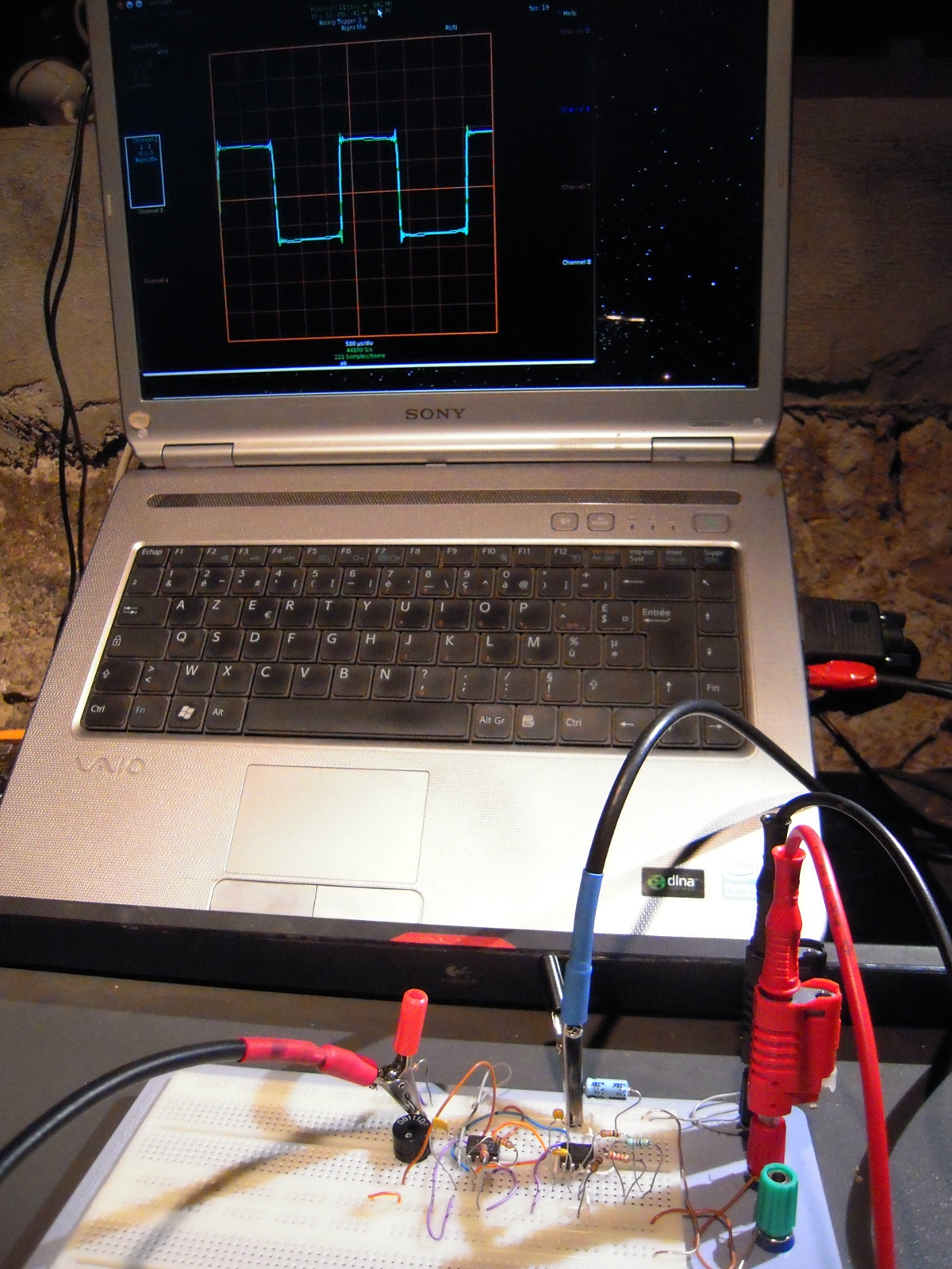 Diy turn your gnulinux computer into a free oscilloscope yann any solutioingenieria Image collections