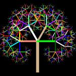 Arbre récursif en logo