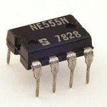 The LM 555 IC timer chip