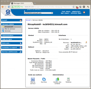 Capture-Manager OVH 2 - Chromium